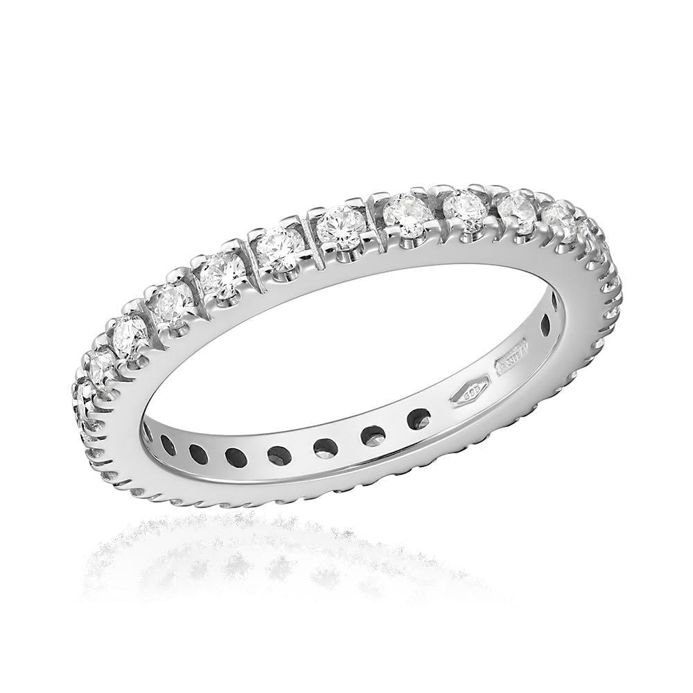 Inel eternity cu diamante