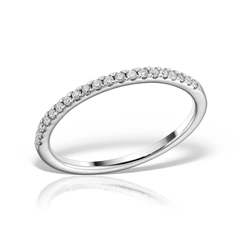 Inel Semi Eternity Cu Diamante