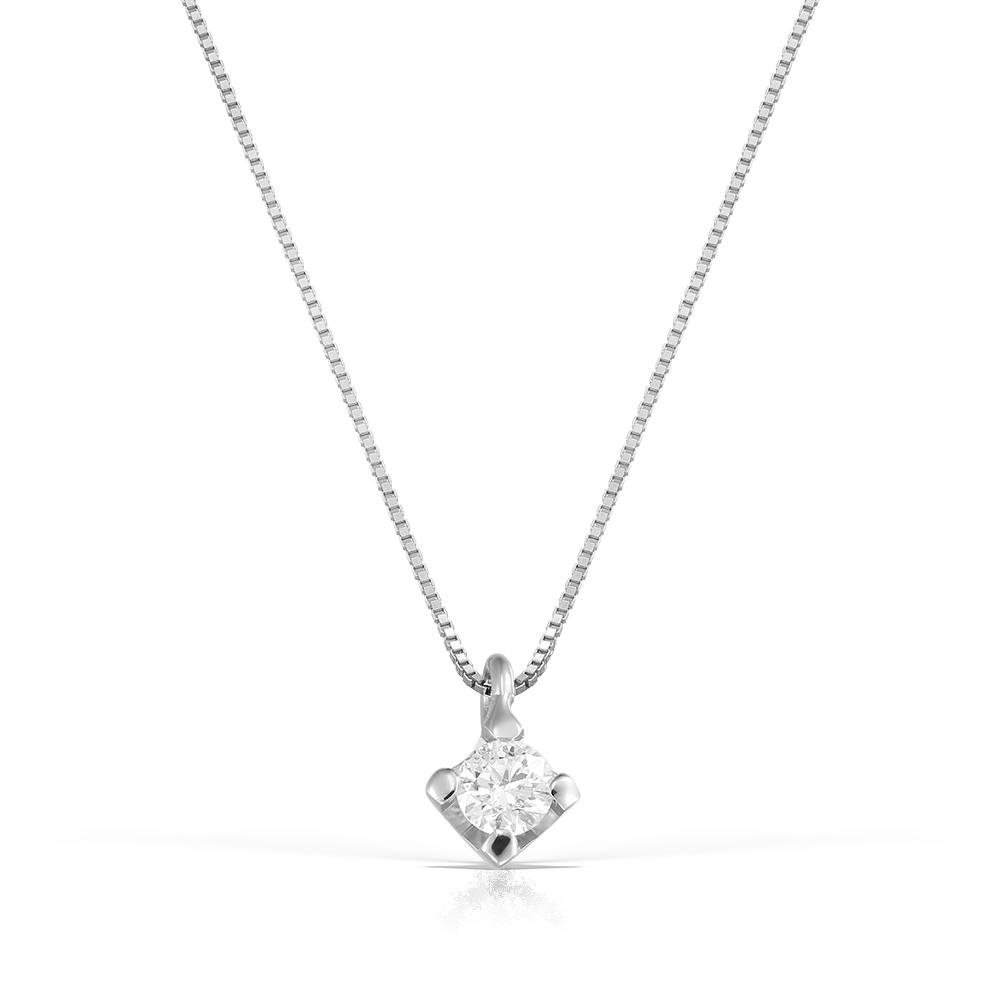 Lant Solitaire Cu Diamant