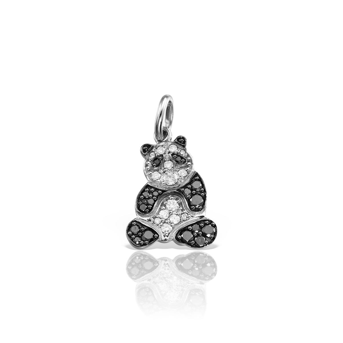 Pandantiv cu diamante negre