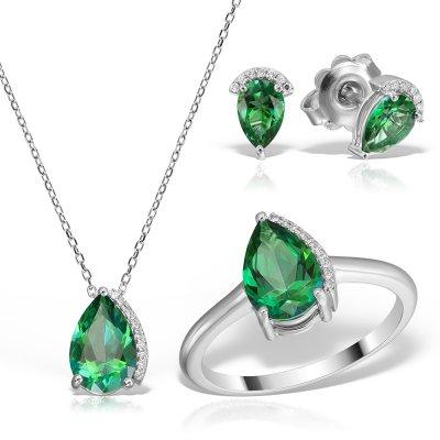 Bijuterii Set Cu Topaz Si Diamante