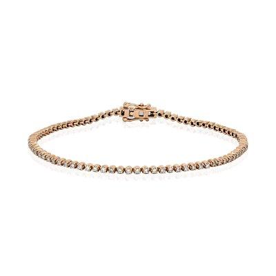 Bratara aur roz cu diamante