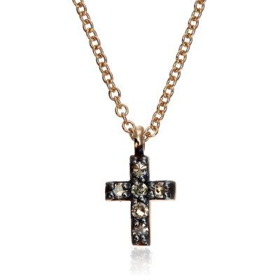 Cruce cu diamante colorate