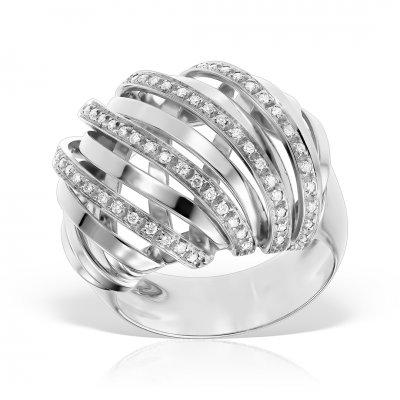 Inel din aur 18k cu diamante