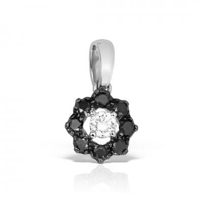 Pandantiv din aur 18k cu diamante