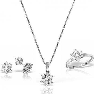 Set bijuterii cu diamante